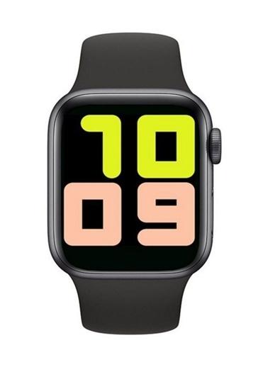 Bludfire Akıllı Saat T500 Smart Watch Türkçe Menü Tam Dokunmatik Siyah